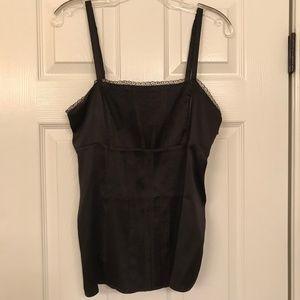 White House Black Market black camisole SIZE M
